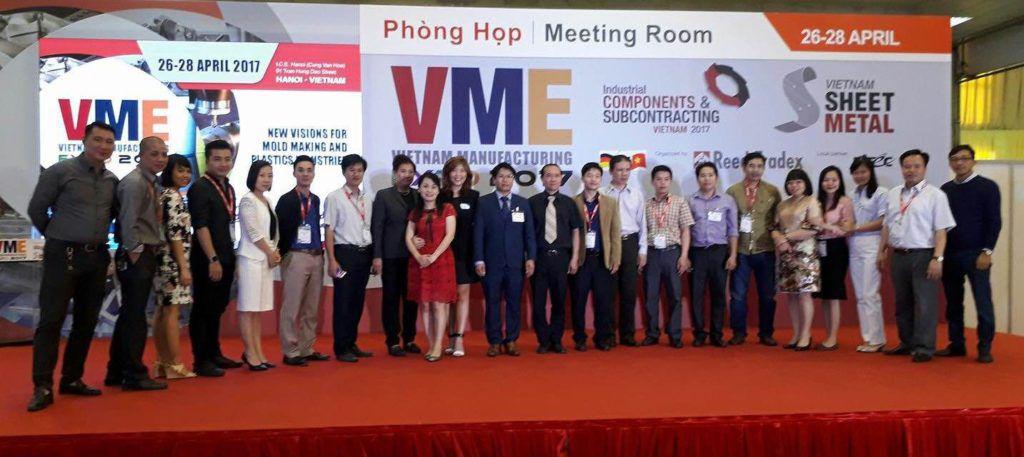 công ty nam vượng tham gia hội trợ quốc tế giới thiệu sản phẩm