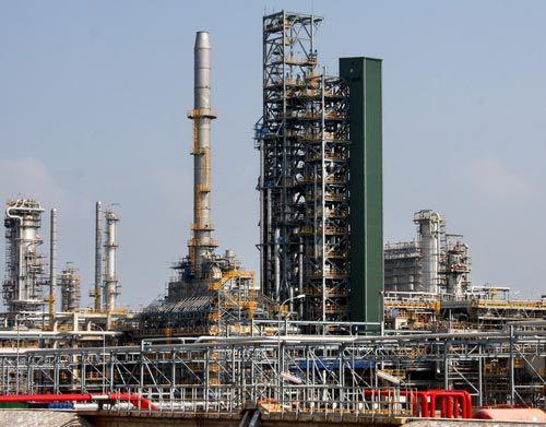 dự án nhà máy lọc dầu dung quất
